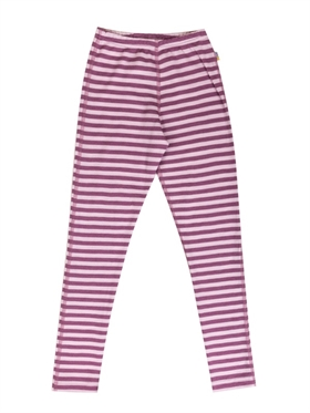 Tilbud! Uldunderbukser fra Joha til drenge. Leggings til piger på udsalg. Stribede leggings til ...